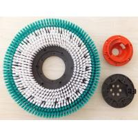 "Hard Tynex Floor Machine Scrubbing Brush , Circular Cleaning Brush 12""-21"""
