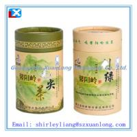 Wholesale paper tin can for tea from china suppliers