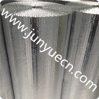 China ceiling aluminium air bubble foil wrap roll prefab chicken farm reflective heat thermal roof insulation material Customs on sale