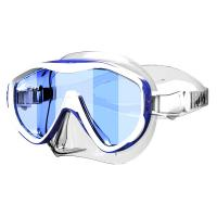 Wholesale Mirror Coating Lens Adult Scuba Half  Free Dive Mask Tempered Lens from china suppliers