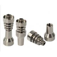 Wholesale NEW STYLE 10mm 2 IN 1 titanium domeless nails with male & female joint from china suppliers