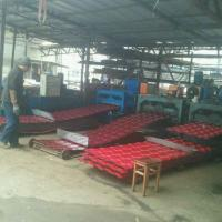 China 5 Waves Glazed Panel Making Machine For Country House In Chile Village for sale