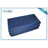 Buy cheap Anti - Bacterial Medical Non Woven Fabric Disposable Bed Sheet Roll from wholesalers