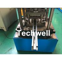 Wholesale Custom Made Sliding Shutter Door Guide Rail Roll Forming Line With Chain Drive from china suppliers