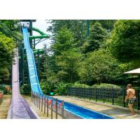 Buy cheap Adult High Speed Slide Adult Water Slide Playground  / Fiberglass Slide Theme Water Park Project from wholesalers