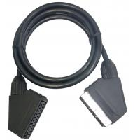 Wholesale Scart male to female 21pin scart cable/kabel connections from china suppliers
