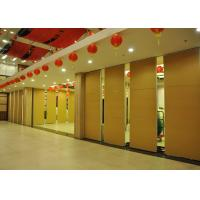 Training Room Sound Deadening Panels ,  Folding Office Partition Door 65mm