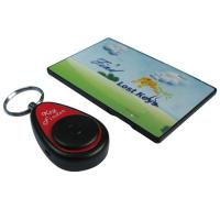 Wholesale KF1 ABS Wireless Remote Key Finder 1 Transmitter Card 1 Receiver Keychain from china suppliers