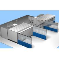 Quality 3 in 1 Preparation Area, Mixing Room, Painting Industrial Large Spray Booth for sale