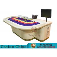 Wholesale Macao VIP Dedicated Casino Poker Table / Entertainment Baccarat Tables for 9 Players from china suppliers