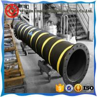 Wholesale Made in China 15'' inch thick wall floated  black rubber suction and delivery dredging hose from china suppliers