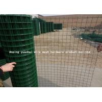 Wholesale Pvc Coated Security Metal Fencing Green Color For Sports Field And Agriculture from china suppliers
