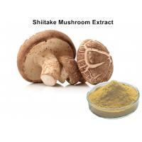Wholesale 30% Lentinan Shiitake Mushroom Polysaccharides Extract Brown Yellow Powder Anti - Virus from china suppliers