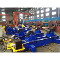 Wholesale Movable 60T Pipe Welding Rotator Stepless Speed for Circular Pipe Welding from china suppliers