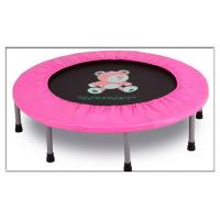 China Small Size Home use Round Trampoline Bed for Fun /Gym Circuit Trainer Mini Trampoline on sale