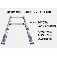 Buy cheap Luxury Roof Racks With Light For Toyota Land Cruiser FJ200 LC200 from wholesalers