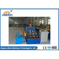 China Automatic Control Cable Tray Roll Forming Machine 8-12m/min Forming Speed on sale