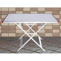 Wholesale 1 Section (1m)x3pcs Height Adjustable Folding Table from china suppliers