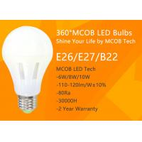 Wholesale LED Light Bulb , 75 - 100 Watt Incandescent Bulbs Equivalent for Home Use , 360° Beam Angle, 1200lm 10W , Dimmable MCOB from china suppliers
