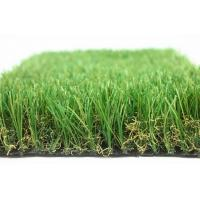 No Fading Fake Grass Carpet Less Seaming , Cool Artificial Grass For Residential Yards
