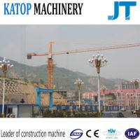 Wholesale China factory low price single gyration QTZ63-TC5010 4t load tower crane from china suppliers