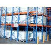 China Roll Forming Food Companies Drive In Storage Warehouse Racking Shelves on sale