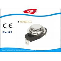 Wholesale KSD302-111 Temperature Switch Thermostat , Bimetal Disc Thermostat Automatic Reset from china suppliers