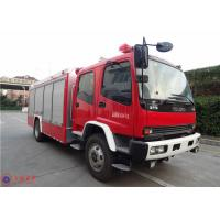 Wholesale ISUZU Chassis Commercial Fire Trucks Dry Powder For Petrochemical Enterprises from china suppliers