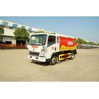 China SINOTRUK Diesel Fuel Trailer , Fuel Storage Trailer Customized Capacity for sale