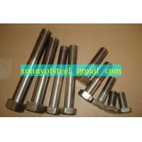 Wholesale inconel UNS N07750 fastener bolt nut washer gasket screw from china suppliers