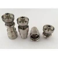 Wholesale Gr2 GR2 domeless titanium nail female nail smoking pipe 14mm 18mm from china suppliers