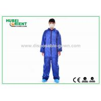 Wholesale Nonwoven Flame Retardant Disposable Coveralls For Asbestos Removal from china suppliers