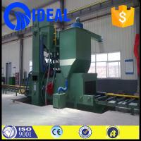 Wholesale Abrasive/grits/sand/shot cleaning type tunnel type shot blasting machine from china suppliers