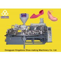 Buy cheap Full Automatic Rotary Plastic Shoes Making Machine For Ladies High Heel Jelly from wholesalers