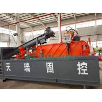 China Industrial Drilling Waste Oil Rig Mud System Sludge Management Equipment on sale