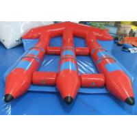 Wholesale Funny Red Inflatable Water Toys , PVC InflatableFlyfish for Water Sport Game from china suppliers