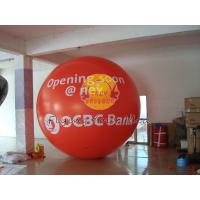 China Custom Made Red Giant Fill Business Advertising Helium Balloons for Entertainment Events on sale