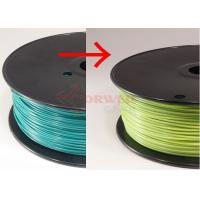 Wholesale 3D Printer Filament 1.75 MM Color Changing Filament Blue Green For FDM 3D Printers from china suppliers