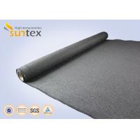 Wholesale Heat Protection Cover High Temperature Fabric Cloth 32.4OZ Graphite Coated Safety Cloth from china suppliers