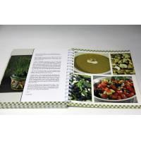 Wholesale Customized Professional CookBook Printing A4 UV Coating , Eco-friendly from china suppliers
