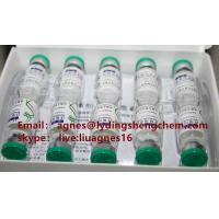 Wholesale Legit Jintropin Hgh Human Growth Hormone Dealer  Blue Top 10 Vials / Kit For Women from china suppliers