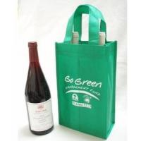 Wholesale Good Quality eco-friendly non woven drink bag ,wine bag from china suppliers