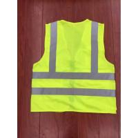 Quality reflective safety vest,reflective rain coat,LED reflective bicycle vest for sale