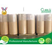 Wholesale High Strength Acrylic Glue Plastic Film Roll , Bopp Jumbo Tape For Carton Package from china suppliers