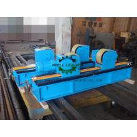 Quality Lead Screw Adjustment Tank Turning Rolls , Digital Speed Display Pipe Welding Stands for sale