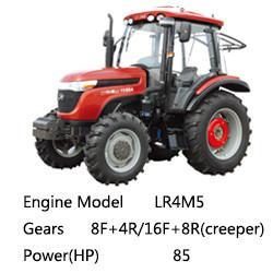 Wholesale Taishan Wheel Tractor Mountain-Tai Ts850/Ts854 EURO 2, 4*4 4*2, 85HP from china suppliers