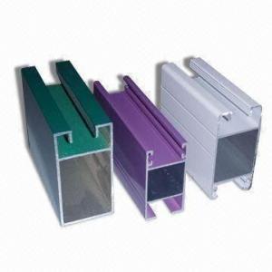 Wholesale Electrophoretic Coated 6061 Aluminum Profile , Q/320281/PDWD-2008 Structural Aluminium Profiles from china suppliers