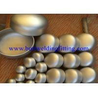 Weld On Stainless Steel Pipe Cap for sale