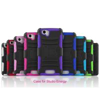 China Blu Studio Energy D810 Plastic Hard cell phone cases with stand function on sale