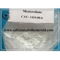 Wholesale Mesterolone ProvironOral Anabolic Steroids For Body building , CAS 1424-00-6 from china suppliers